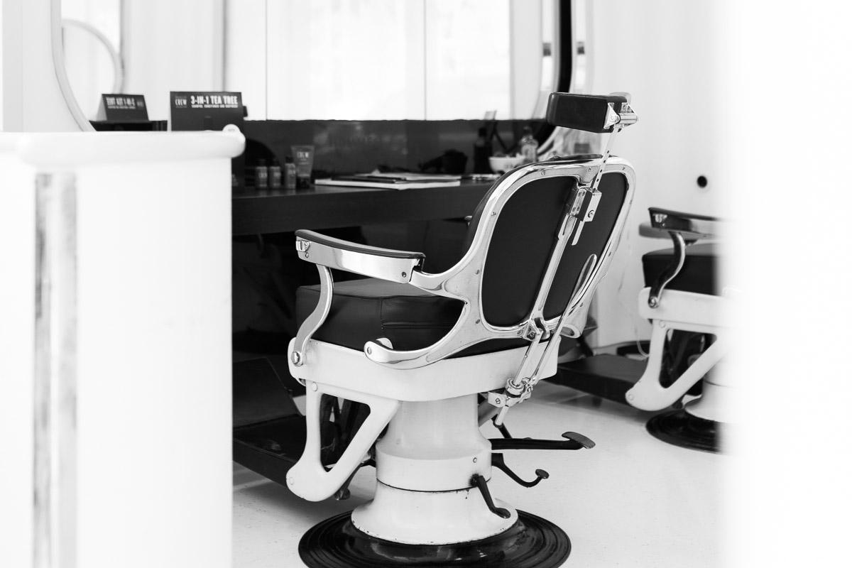 Barbershop Sessel Vintage